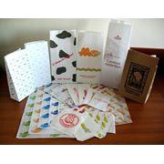 Бумажные пакеты для продуктов питания фото