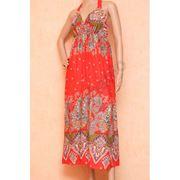Модный сарафан из хлопка фото