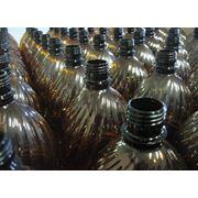 Пэт бутылка 2.0 литра коричневая фото