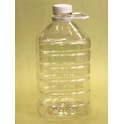 Бутыль из прозрачного пластика, Емкости пластиковые фото