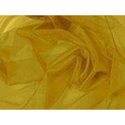 Органза темно-желтая фото