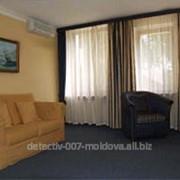 Номер люкс двухкомнатный в гостинице . фото