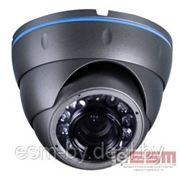 Камера видеонаблюдения антивандальная купольная уличная