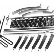 Комплект инструмента для операций на шейном отделе позвоночника фото