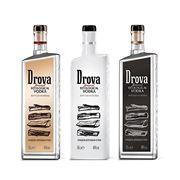 Производство эксклюзивной декорированной бутылки для бренда Дрова фото