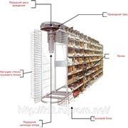 Горизонтальный карусельный стеллаж - KARDEX Industriever Horizontal фото