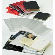 Обложки защитные из полипропилена с клеящей системой фото