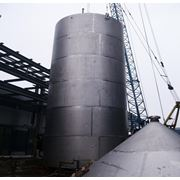 Монтаж надземныех стальных резервуаров фото