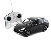 Porsche Cayenne Turbo RASTAR, 1:24 радиоуправляемая модель, Джойстик, Чёрный фото