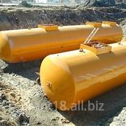 Резервуары горизонтальные подземные двустенные (РГПД) фото
