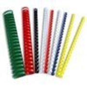 Пластиковая пружина для переплета 12 мм, А4, 100 шт фото