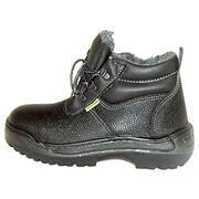 Ботинки литьевые юфтевые мужские Л811 фото