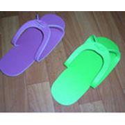 Тапочки для сауны тапочки на мягкой подошве вьетнамки из изолона тапочки-вьетнамки из ППЭ фото