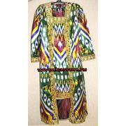 Платье узбекское из хан-атласа