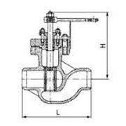 Клапан обратный 829-10-0 Ду10 Ру137