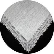 Оренбургский пуховый платок 150 х 150 см. фото