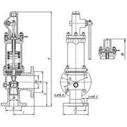 Клапан 17нж25нж Ду25-150 Ру14,0МПа фото