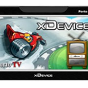 GPS-НАВИГАТОР XDEVICE MICROMAP-PORTO TV+ПО НАВИТЕЛ+SD 2 ГБ фото