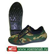 Туфли мужские спортивные из КМФ ткани фото
