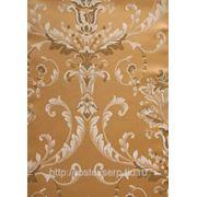 Текстиль жаккард цвет золотой фото