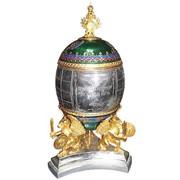 """Изготовление каминных сувениров """"Яйцо"""" фото"""