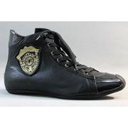Кроссовки IZEL 489-1 чёрные фото