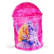 Корзина для игрушек m01-1130 принцесса, ткань, 45*50см, в пакете (833183) фото