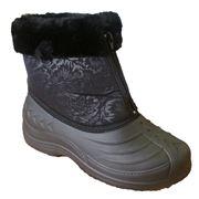 Ботинки женские Аляска ЭВА с опушкой фото