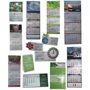 Календари в ассортименте фото