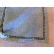 Рушник льняной с декор тесьмой фото