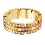 Кольцо обручальное золотое фото