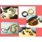 Изделия ювелирные из янтаря фото