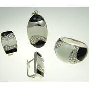 Серебряные комплекты фото