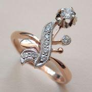 Кольцо с бриллиантами арт.1738235 фото