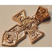 Крест золотой фото
