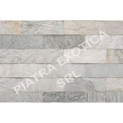 Камень натуральный облицовочный 10х30см цвет: HIMACHAL WHITE фото