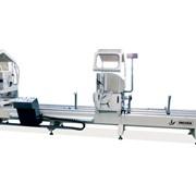 Автоматическая двухголовочная пила с диском O 500 мм (FULL AUTOMATIC LJZ2X-500х4200) LJZ2X-500х4200 фото