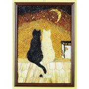 Картина Две кошки фото