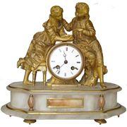 """Каминные часы """"Сюрприз"""" фото"""