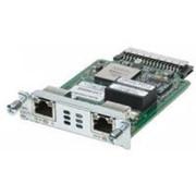Модуль HWIC-2CE1T1-PRI Cisco 2 port channelized T1/E1 and PRI HWIC (data only) фото