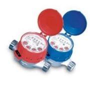 Счетчик воды (водомер) одноструйный, тип JS, Ду-20,Py16, Q=2,5 м3/час, для горячей воды муфтовый, PoWoGaz-Польша
