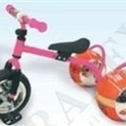 Велосипед с колесами в виде мячей БАСКЕТБАЙК розовый Bike on ball фото