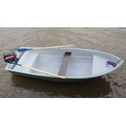 Двухместная моторная лодка гребная фото