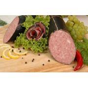 Колбаса варено-копченая салями фото
