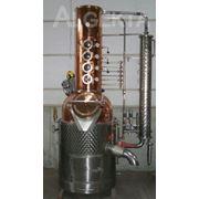 Дистиллятор для производства алкогольных напитков фото