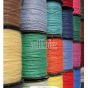 Волокна и нити текстильные фото