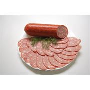Колбаса полукопченая рубленая фото