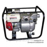 Бензиновая мотопомпа «HONDA WT 20» для перекачки грязной воды до 42 м³/час фото