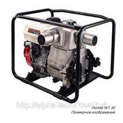 Бензиновая мотопомпа «HONDA WT 30» для перекачки грязной воды до 72 м³/час фото