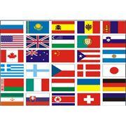 Флаги политические фото
